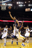 New York Knicks v Golden State Warriors: Landry Fields Photographic Print by Ezra Shaw