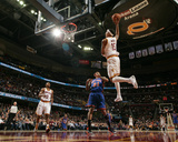 New York Knicks v Cleveland Cavaliers: Jamario Moon, Ramon Sessions and Wilson Chandler Photographie par David Liam Kyle