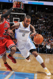 Chicago Bulls v Denver Nuggets: J.R. Smith and C.J. Watson Photographic Print by Garrett Ellwood