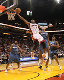 Washington Wizards v Miami Heat: Dwyane Wade Photographic Print by Mike Ehrmann