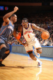 Charlotte Bobcats v New York Knicks: Amar'e Stoudemire and Derrick Brown Photographic Print by Nathaniel S. Butler