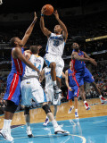Detroit Pistons v New Orleans Hornets: Willie Green Photographic Print by Layne Murdoch