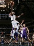Phoenix Suns v Dallas Mavericks: Jason Terry and Goran Dragic Photographic Print by Glenn James