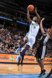 San Antonio Spurs v Denver Nuggets: Ty Lawson and Tony Parker Photographic Print by Garrett Ellwood