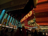 A Lavish Display of Lights in Las Vegas Photographic Print by Jodi Cobb