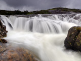 Heavy Rains Swell a Waterfall on the Isle of Harris Photographic Print by Jim Richardson