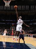 Atlanta Hawks v New Jersey Nets: Anthony Morrow Photographic Print by Jesse D. Garrabrant