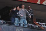 Atlanta Hawks v New Jersey Nets: Mikhail Prokhorov Photographic Print by Jesse D. Garrabrant