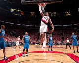 Orlando Magic v Portland Trail Blazers: LaMarcus Aldridge Photographic Print by Sam Forencich
