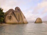 Boulders on Anse-Source D'Argent Beach Photographic Print by Alison Wright