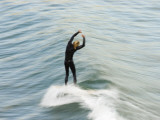 A Surfer at Refugio Point Photographic Print by Rich Reid