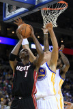 Miami Heat v Golden State Warriors: Chris Bosh Photographic Print by  Ezra