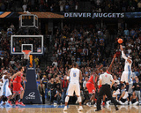 Chicago Bulls v Denver Nuggets: Carmelo Anthony Photographic Print by Garrett Ellwood