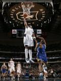 Golden State Warriors v Dallas Mavericks: Jason Terry and Reggie Williams Photographic Print by Glenn James