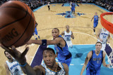Dallas Mavericks v New Orleans Hornets: Willie Green and Shawn Marion Photographic Print by Layne Murdoch