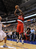 Portland Trail Blazers v Dallas Mavericks: Wesley Matthews Photographic Print by Ronald Martinez