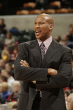 Cleveland Cavaliers  v Indiana Pacers: Byron Scott Photographic Print by Ron Hoskins