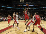 New Jersey Nets v Toronto Raptors: Travis Outlaw Photographic Print by Ron Turenne