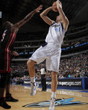 Miami Heat v Dallas Mavericks: Dirk Nowitzki and Dwyane Wade Photo by Glenn James