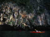Kayaking Among Karsts Photographic Print by Alison Wright