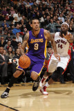 Los Angeles Lakers v Toronto Raptors: Matt Barnes and Julian Wright Photographic Print by Ron Turenne
