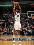 Miami Heat v Memphis Grizzlies: Darrell Arthur Photographic Print by Joe Murphy