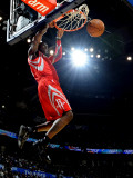 Houston Rockets v Oklahoma City Thunder: Jermaine Taylor Photographic Print by Larry W. Smith