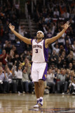 Indiana Pacers v Phoenix Suns: Jared Dudley Photographic Print by Christian Petersen
