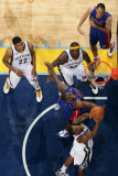 Detroit Pistons v Memphis Grizzlies: Darrell Arthur and Jason Maxiell Photographic Print by Joe Murphy
