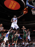 Milwaukee Bucks v Philadelphia 76ers: Jrue Holiday Photographic Print by Jesse D. Garrabrant