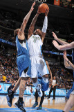 Minnesota Timberwolves v Denver Nuggets: J.R. Smith Photographic Print by Garrett Ellwood