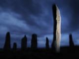 The Callanish Standing Stones, Cut from Rocks Three Billion Years Old 写真プリント : ジム・リチャードソン