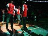Portland Trail Blazers v Boston Celtics: Rajon Rondo Photographic Print by  Elsa