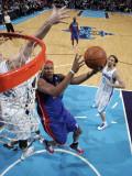 Detroit Pistons v New Orleans Hornets: Charlie Villanueva Photographic Print by Layne Murdoch