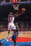 Atlanta Hawks v Detroit Pistons: Ben Wallace Photographic Print by Allen Einstein