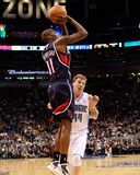 Atlanta Hawks v Orlando Magic: Jamal Crawford and Jason Williams Photographic Print by Sam Greenwood