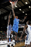 Tulsa 66ers v Texas Legends: Larry Owens Photographic Print by Layne Murdoch