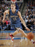 Minnesota Timberwolves v Dallas Mavericks: Luke Ridnour Photographic Print by Glenn James