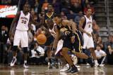 Indiana Pacers v Phoenix Suns: Jason Richardson and Brandon Rush Photographic Print by Christian Petersen