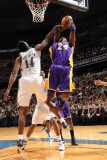 Los Angeles Lakers v Washington Wizards: Kobe Bryant and Al Thornton Photographic Print by Andrew Bernstein