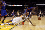 New York Knicks v Golden State Warriors: Monta Ellis and Raymond Felton Photographic Print by Ezra Shaw