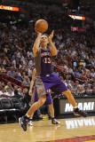 Phoenix Suns v Miami Heat: Steve Nash Photographic Print by Mike Ehrmann