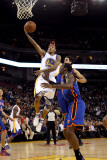 New York Knicks v Golden State Warriors: Monta Ellis Photographic Print by Ezra Shaw