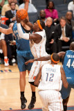 Minnesota Timberwolves v Charlotte Bobcats: Gerald Wallace Photographic Print by Kent Smith