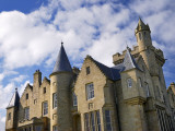 Exterior View of the Turrets at Balfour Castle Photographic Print by Jim Richardson