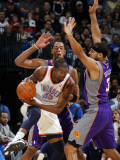 Phoenix Suns v Oklahoma City Thunder: Kevin Durant and Jared Dudley Photographic Print by Layne Murdoch
