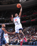 Charlotte Bobcats v Philadelphia 76ers: Thaddeus Young Photographic Print by David Dow