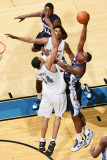 Memphis Grizzlies v Washington Wizards: Darrell Arthur and JaVale McGee Photographic Print by Ned Dishman