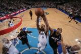 Miami Heat v Dallas Mavericks: Tyson Chandler and Juwan Howard Photographic Print by Glenn James
