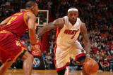 Cleveland Cavaliers  v Miami Heat: LeBron James Photographic Print by Victor Baldizon
